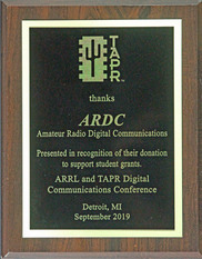 Thank-you Plaque